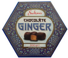 Sultans Dark Chocolate Gingers 200g